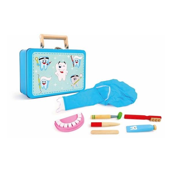 Set cu jucării din lemn Legler Dentist