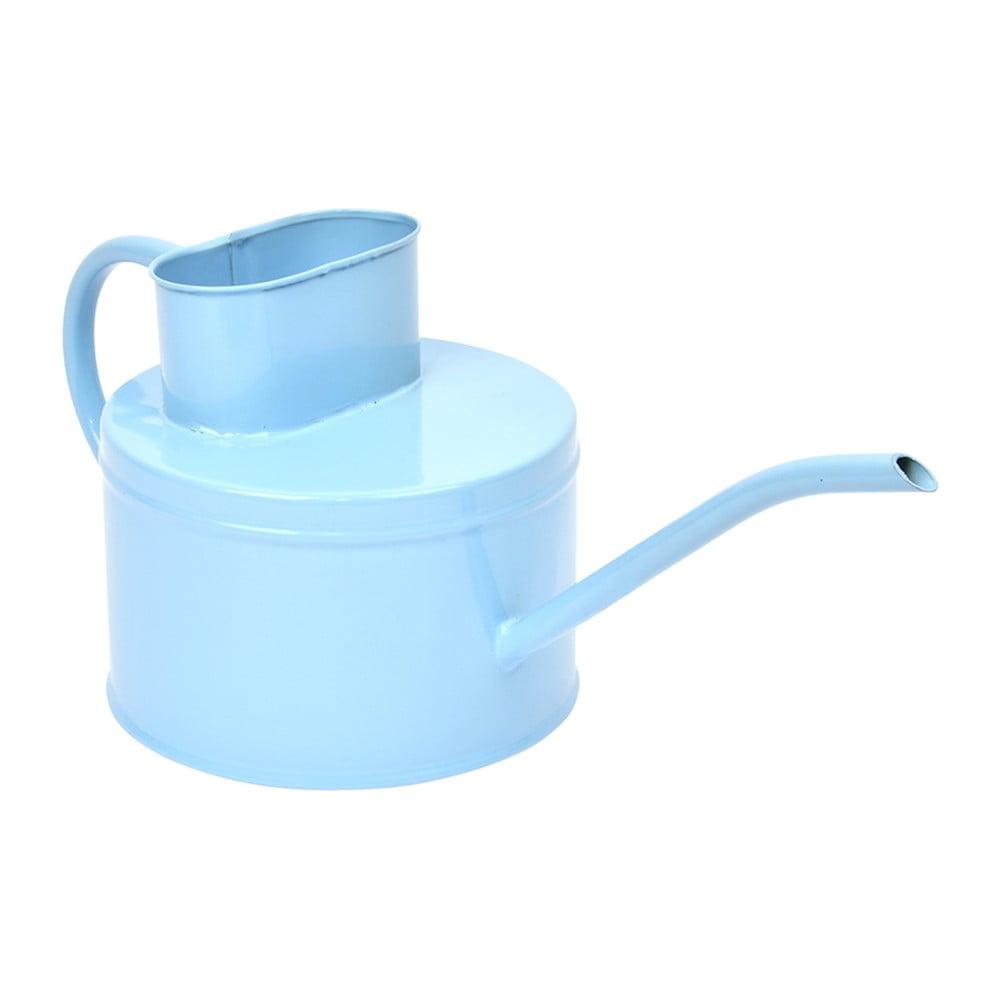 Světle modrá kovová konvička na zalévání Esschert Design Gardener