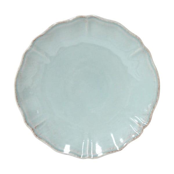 Farfurie ceramică Costa Nova Alentejo, Ø 27 cm, turcoaz