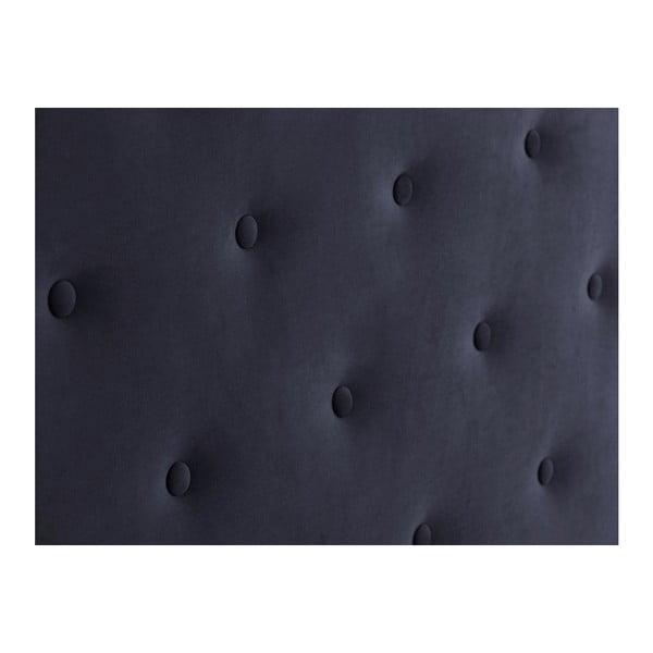 Tmavě modré čelo postele Windsor & Co Sofas Astro, 160 x 120 cm