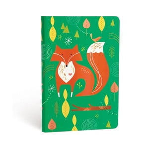 Carnețel cu copertă tare Paperblanks Mister Fox, 12 x 17 cm