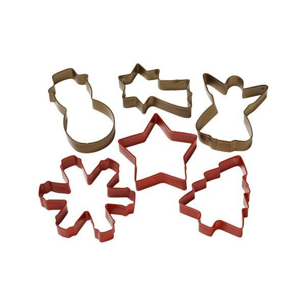 Vykrajovátka Cookie cutters Christmas coloured