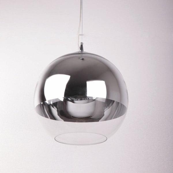 Závěsné svítidlo ze skla Thai Natura Metalique