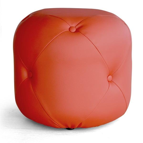 Sedací puf Cubis, červený