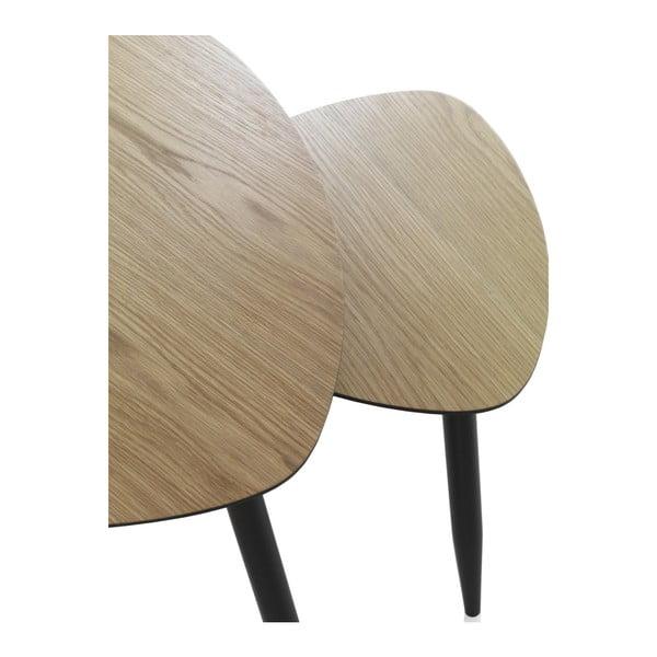 Sada 2 konferenčních stolků Geese Nordic Style Parro, 60 x 60 cm