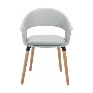Šedá židle Støraa Alto