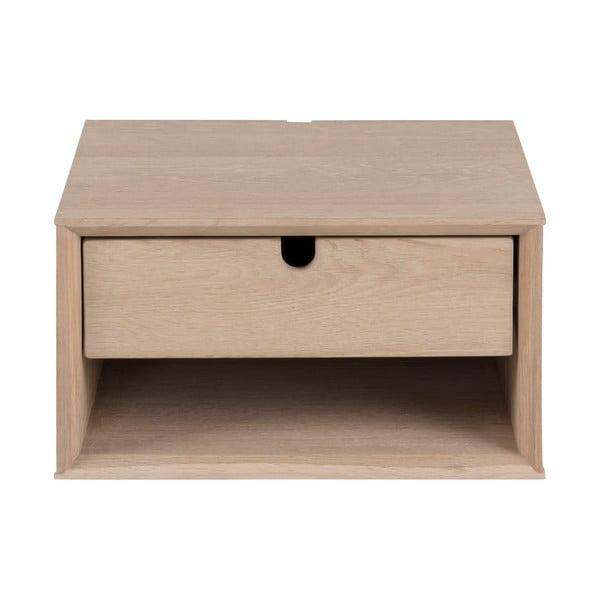 Závesný nočný stolík s 1 zásuvkou Actona Century, výška 21 cm
