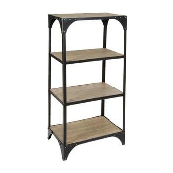 Regal cu 3 etaje din metal și lemn de brad Santiago Pons Metal