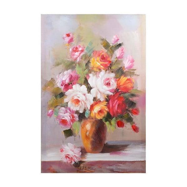 Obraz na plátně Orange Flowers, 60x90 cm
