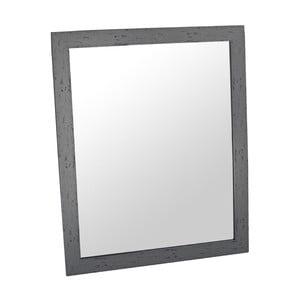 Zrcadlo Romantic 46x56 cm, tmavě šedý rám