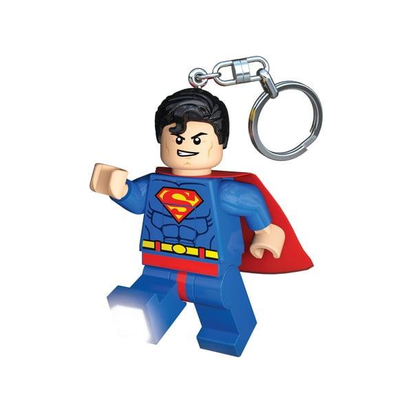 DC Super Heroes Superman világító kulcstartó - LEGO®