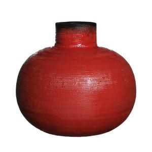 Keramická váza Latina Orange, 32 cm