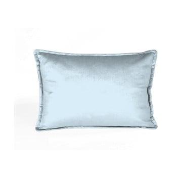 Față de pernă decorativă Velvet Atelier Baby Blue, 50 x 35 cm de la Velvet Atelier