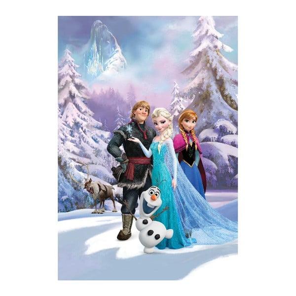 Velkoformátová tapeta Disney Frozen, 158x232 cm