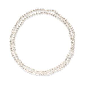 Bílý perlový náhrdelník Nova Pearls Copenhagen Emilie