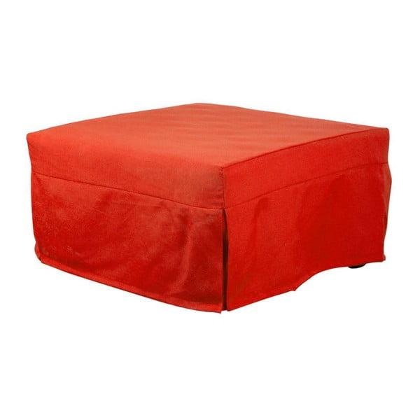 Oranžovočervený puf 13Casa Evo
