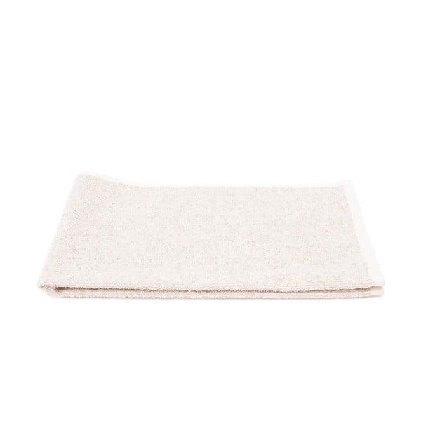 Sada 2 krémových froté ručníků Casa Di Bassi Stripe, 50 x 70 cm