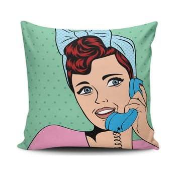 Pernă cu adaos de bumbac Cushion Love Pop Art, 45 x 45 cm