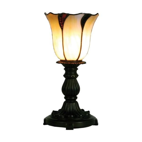 Tiffany stolní lampa Lotus
