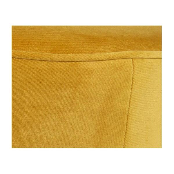 Hořčicově žlutá dvoumístná pohovka De Eekhoorn Sara