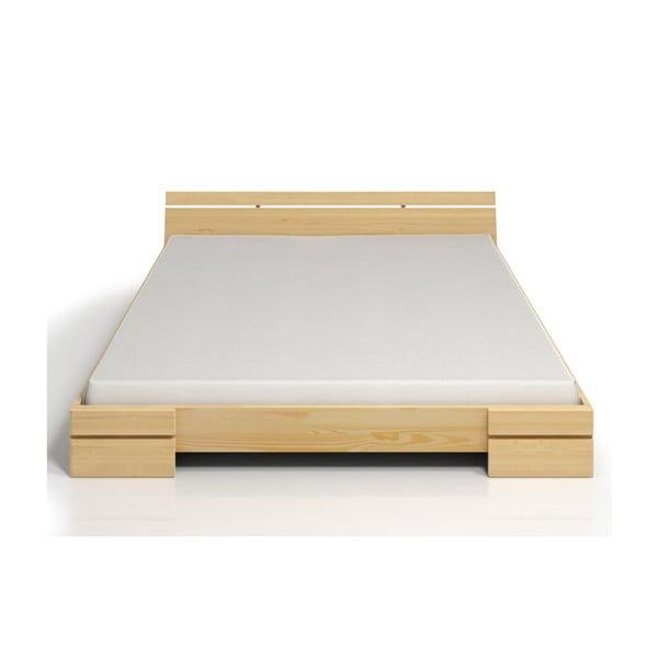 Dvojlôžková posteľ z borovicového dreva SKANDICA Sparta, 160×200cm