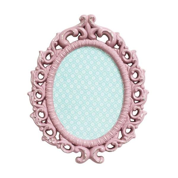 Magnetická tabule, růžový rám