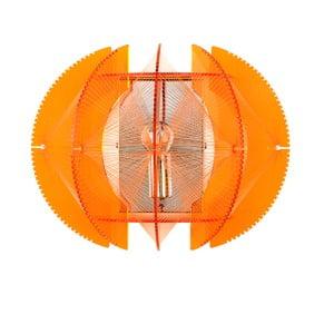Nástěnné světlo Wire, oranžové