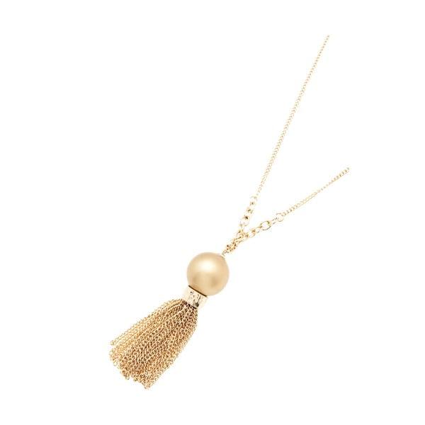 Dámský náhrdelník ve zlaté barvě NOMA Aurora