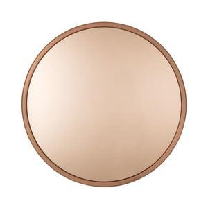 Oglindă Zuiver Bandit, Ø 60 cm, arămiu