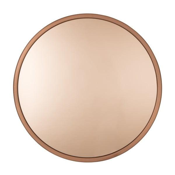 Bandit rézszínű fali tükör, ø 60 cm - Zuiver