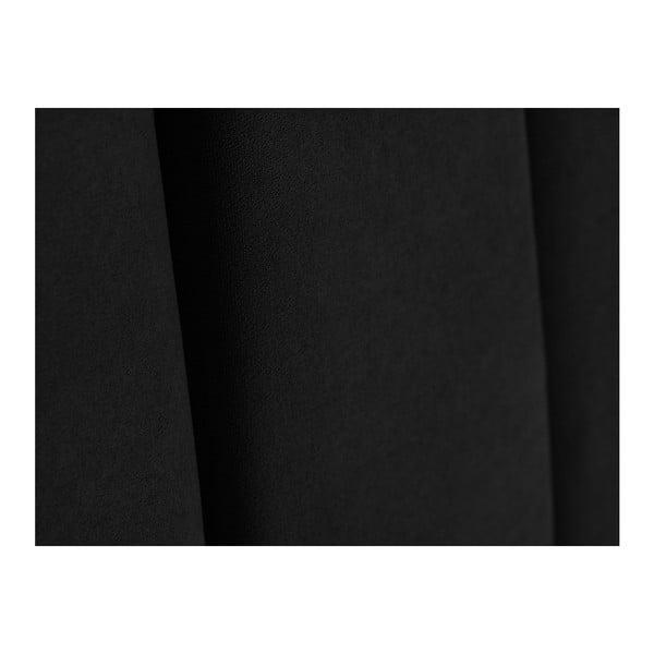 Černé čelo postele Kooko Home Kasso, 120 x 180 cm
