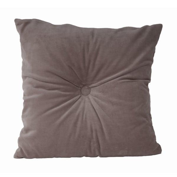 Szara poduszka bawełniana PT LIVING, 45x45 cm