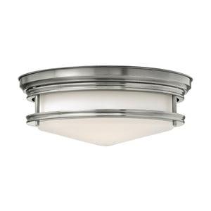 Stropní svítidlo ve stříbrné barvě Elstead Lighting Hadley Tres Nickel
