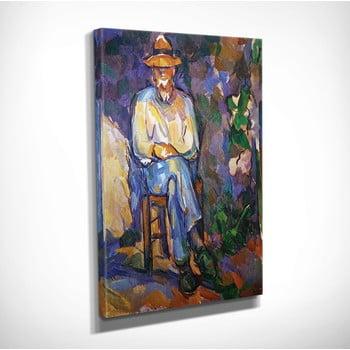 Reproducere tablou pe pânză Paul Cézane, 30 x 40 cm