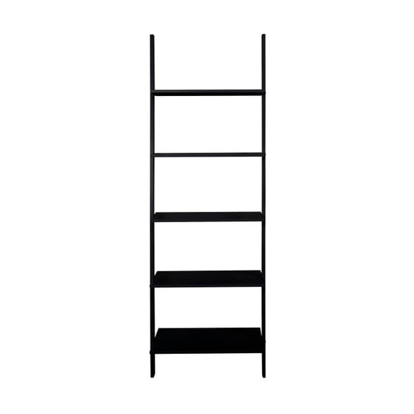 Czarno-brązowa biblioteczka ścienna Actona Seaford, wys. 183 cm
