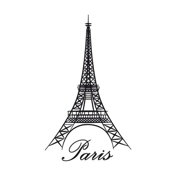 Samolepka na stěnu Eiffel