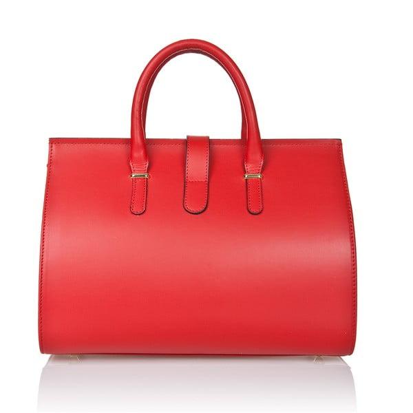 Kožená kabelka Markese 5156 Red