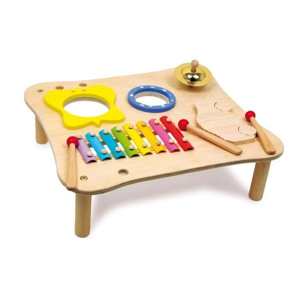 Dřevěný hrací stolek Legler Music