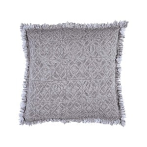 Béžovošedý polštář Walra Yara, 50x50cm