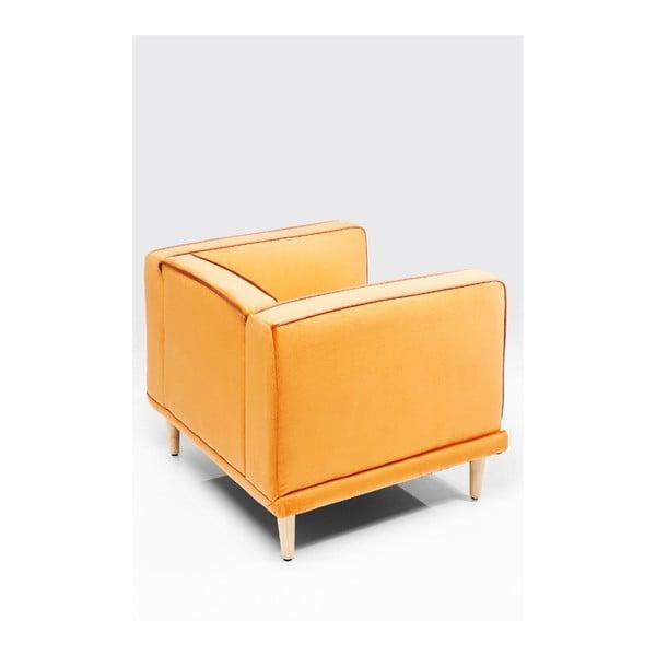 Oranžové křeslo Kare Design Chill Out