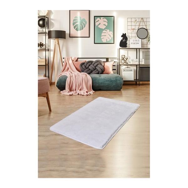 Biały dywan Milano, 120x70 cm