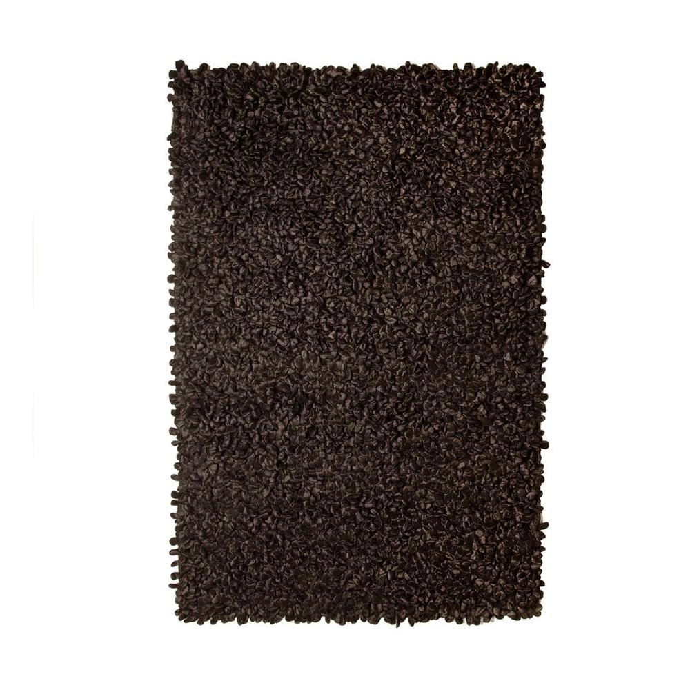 Černý koberec Velvet 120 x 180 cm