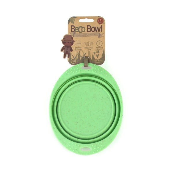 Cestovní miska Beco Travel Bowl 18.5 cm, zelená