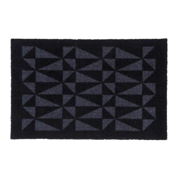 Černošedá rohožka tica copenhagen Graphic, 40x60cm