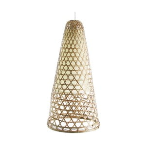 Lustră din bambus VICAL HOME Adelia, Ø 30 cm