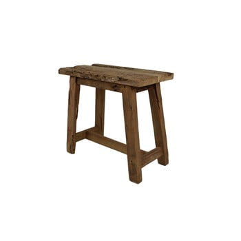 Scaun din lemn de tec HSM collection Rustical, lungime 50 cm imagine