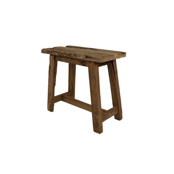Scaun din lemn de tec HSM collection Rustical, lungime 50 cm
