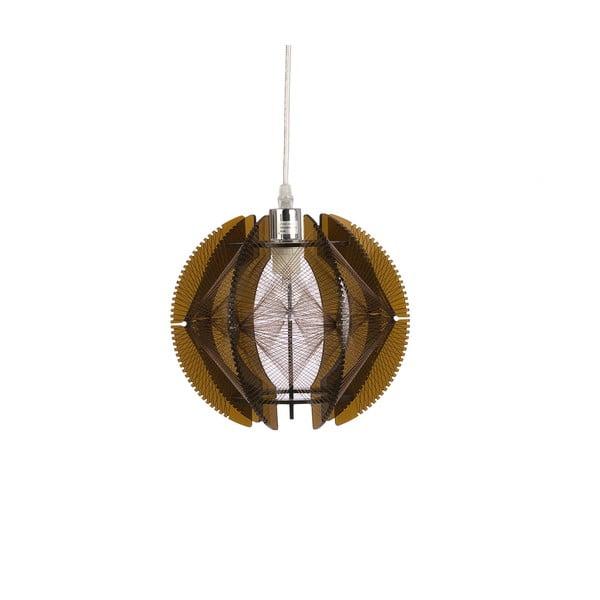 Závěsné světlo Small Wire, hnědé