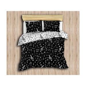 Lenjerie de pat cu cearșaf și 2 fețe de pernă Stars, 200 x 220 cm