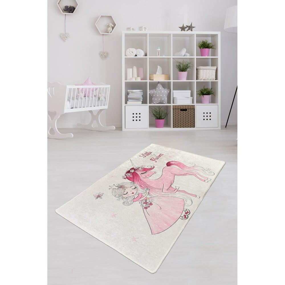 Dětský protiskluzový koberec Chilai Little Princess,100x160cm
